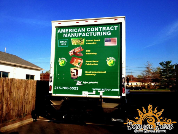 Nationwide Fleet box truck graphics and wraps