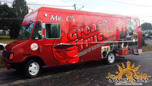 Food truck wrap companies NJ