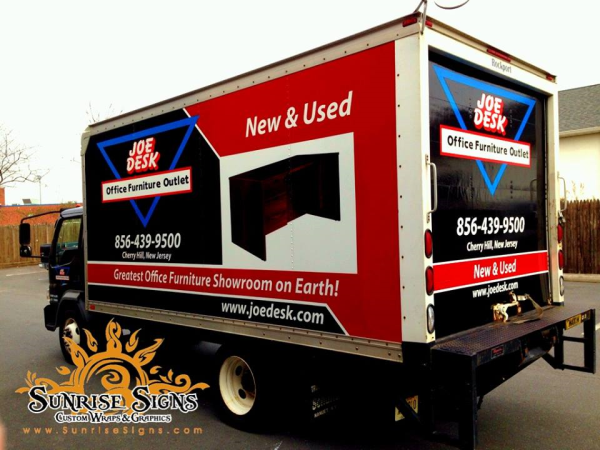 Cherry Hill NJ Box Truck Wraps