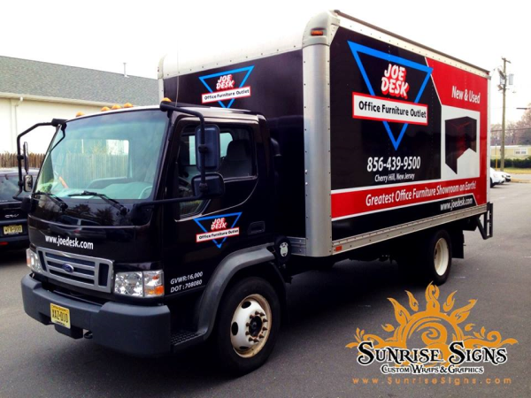 Furniture Outlet Box Truck Wraps