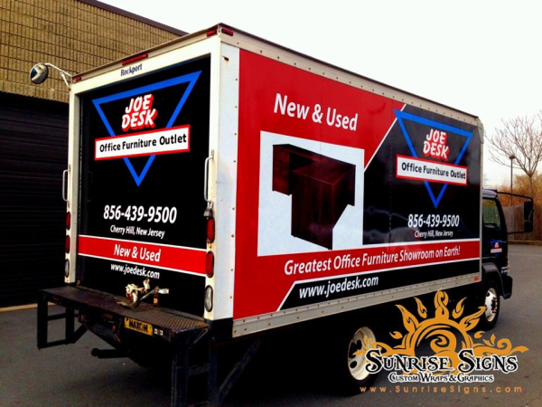 Camden County Box Truck Wraps