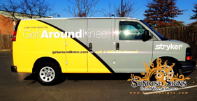 Chevy Express fleet van wraps