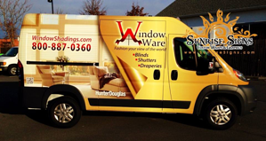 Brand your franchise with vehicle wraps and graphics