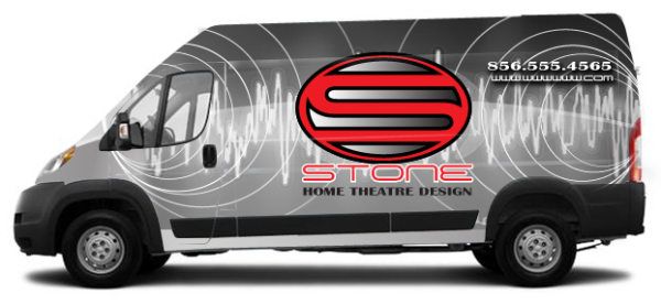Full body vehicle wraps for RAM ProMaster