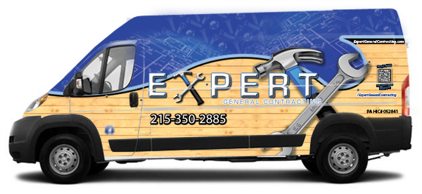 General Contractor RAM ProMaster vehicle wraps