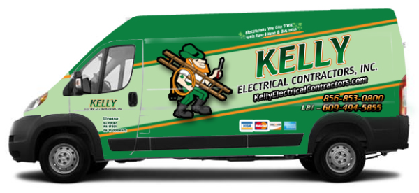 Electrical contractor RAM Promaster vehicle graphics