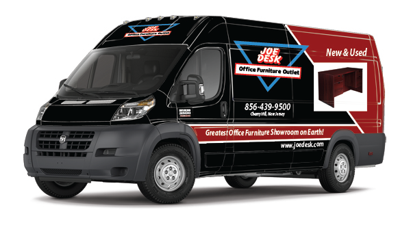 Delivery vehicle wraps for the ProMaster