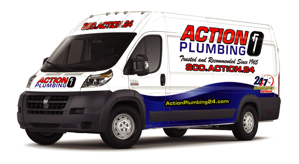 RAM Promaster vehicle wraps for Plumbers