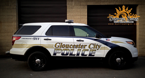 Reflective Vinyl Graphics for NJ Police Departments