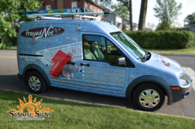 Ford Transit Connect Vehicle Wraps
