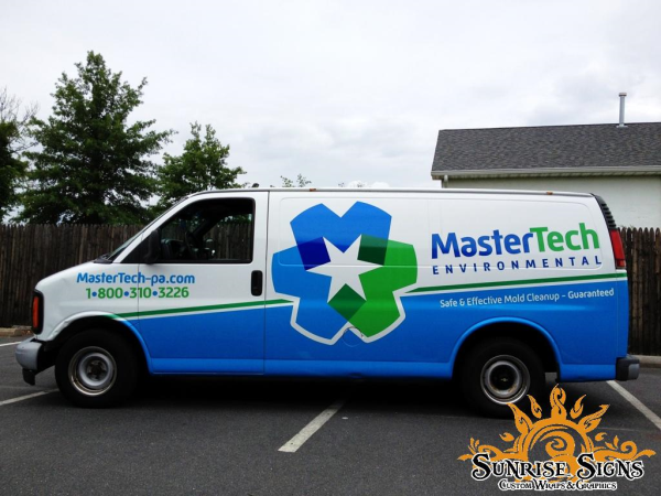 Mold Remediation Company Vehicle Wraps