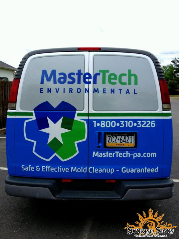 How contractors can brand with vehicle wraps