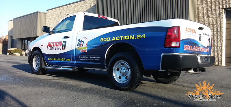 Dodge RAM Pick-Up Truck Wraps South Jersey