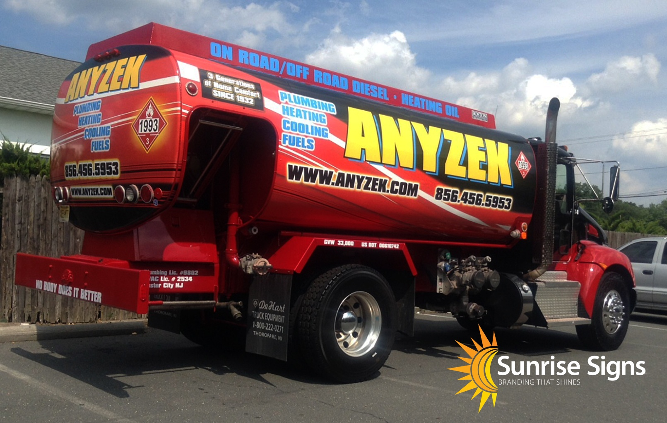 New Jersey HVAC Truck Wraps