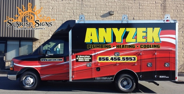 South Jersey HVAC Vehicle Wraps