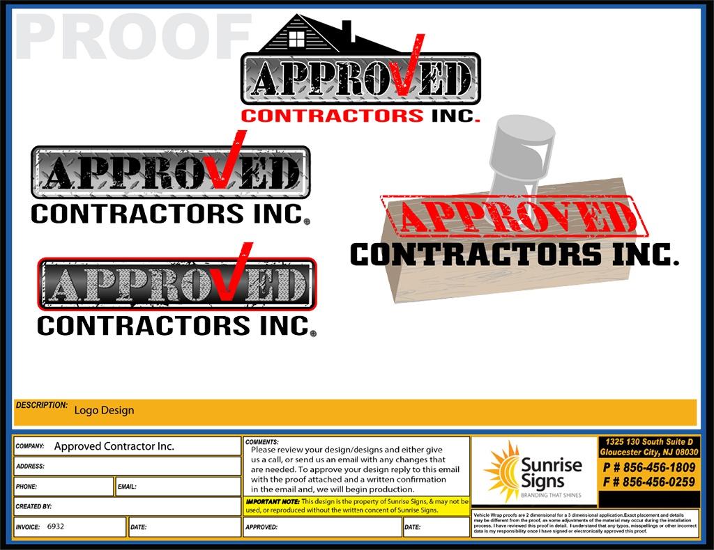 Home Service Contractor Logo Designs