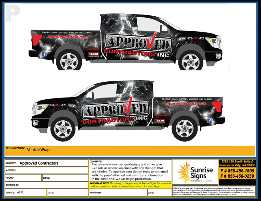 Home Service Contractor Vehicle Wrap Design