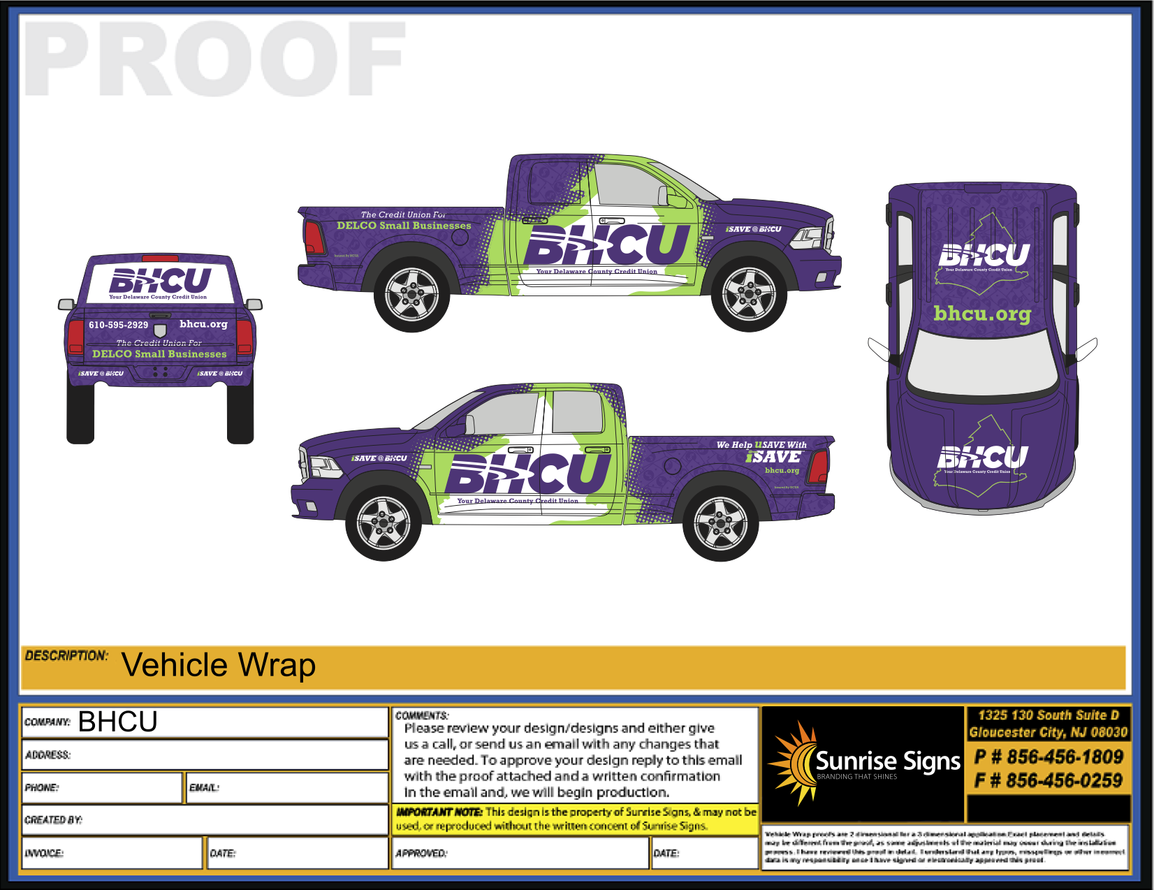 Philadelphia Vehicle Wrap Design