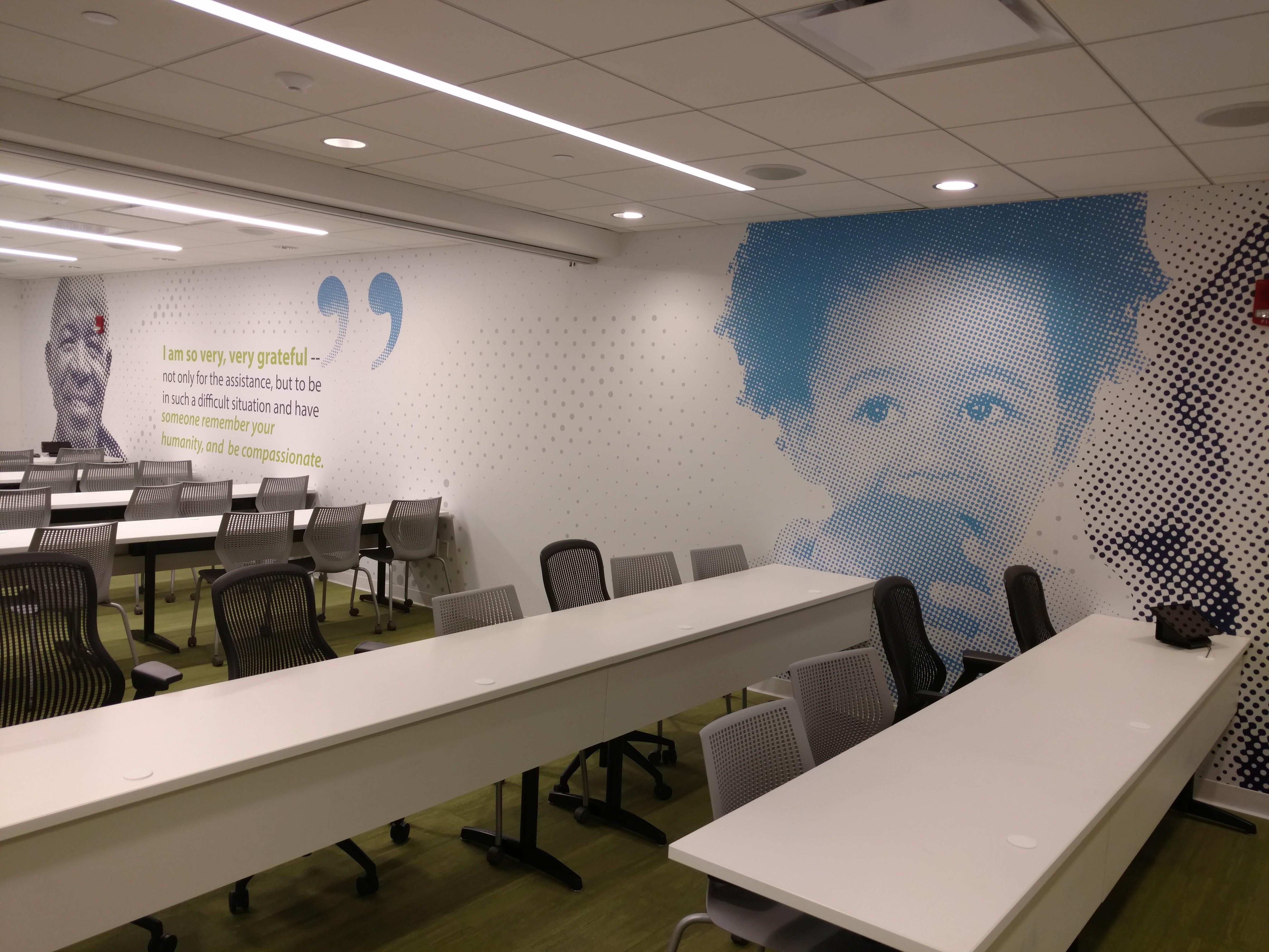 Philadelphia Corporate Culture Wall Mural