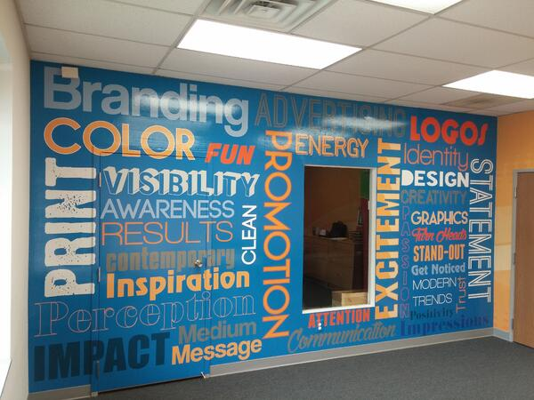 Corporate Wall Graphics and Wall Murals