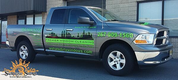 Dodge RAM 1500 Truck Lettering and Graphics Philadelphia