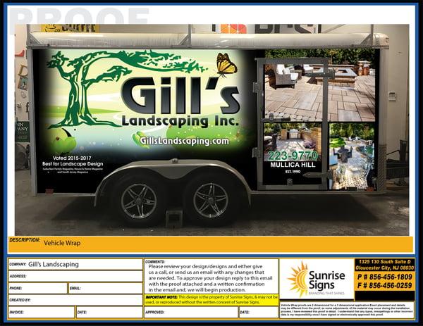 Vehicle Wrap Trailer Design Services