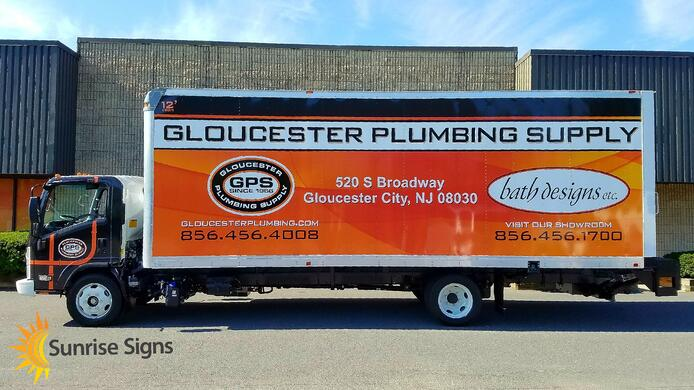 Plumbing Supply Box Truck Wraps