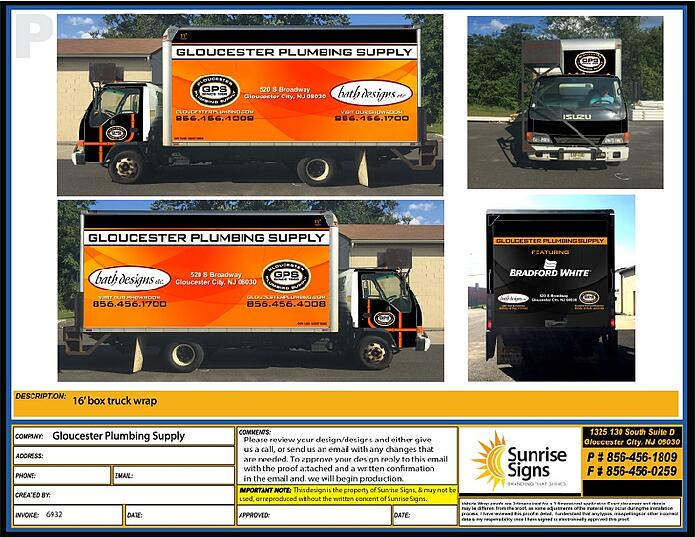 box truck wrap design