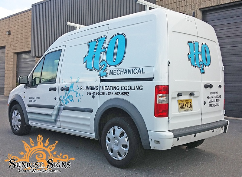 Ford Transit Connect Van Wraps and Graphics NJ