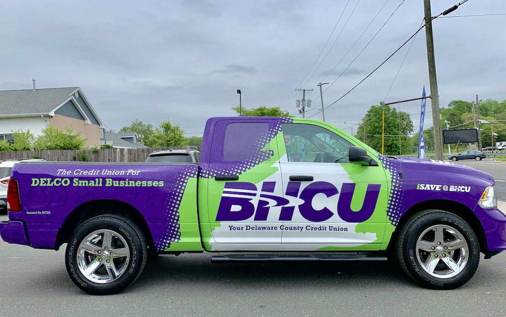 South Jersey Pickup Truck Wrap