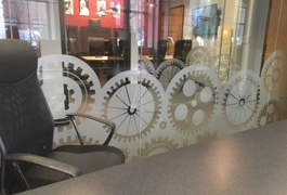 custom privacy glass etched film