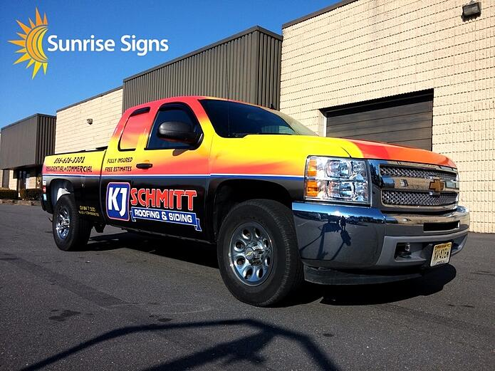South Jersey Full Truck Wrap