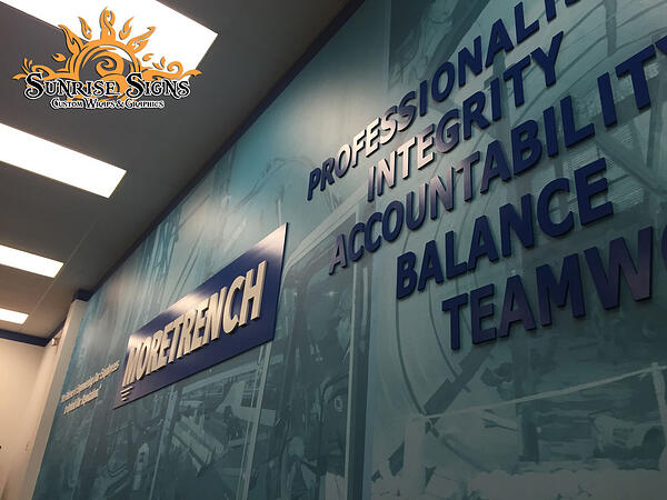 South Jersey Corporate Wall Murals