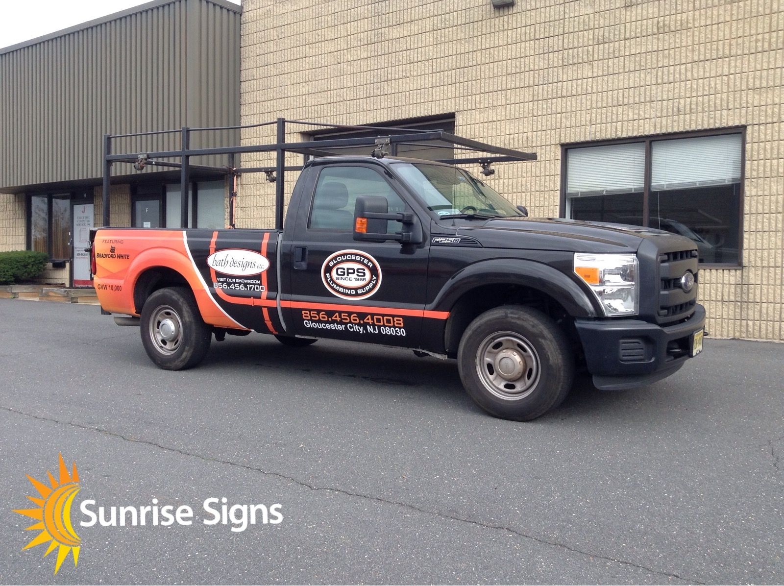plumbing supply company truck wraps