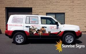 SPCA Jeep