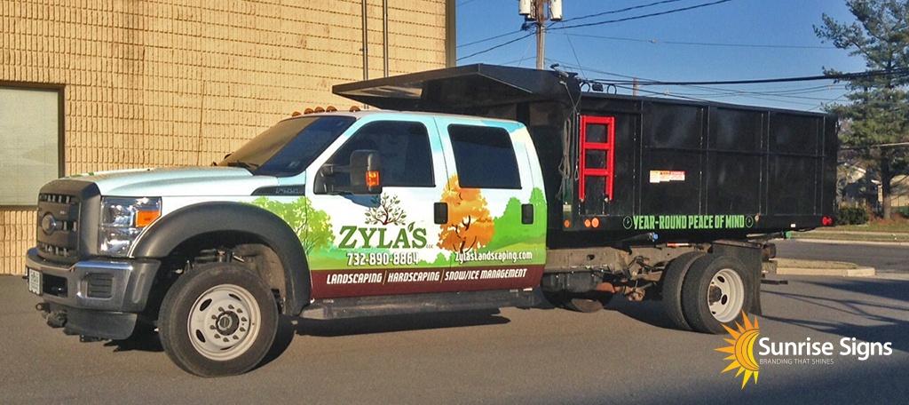 Philadelphia Dump Truck Wraps