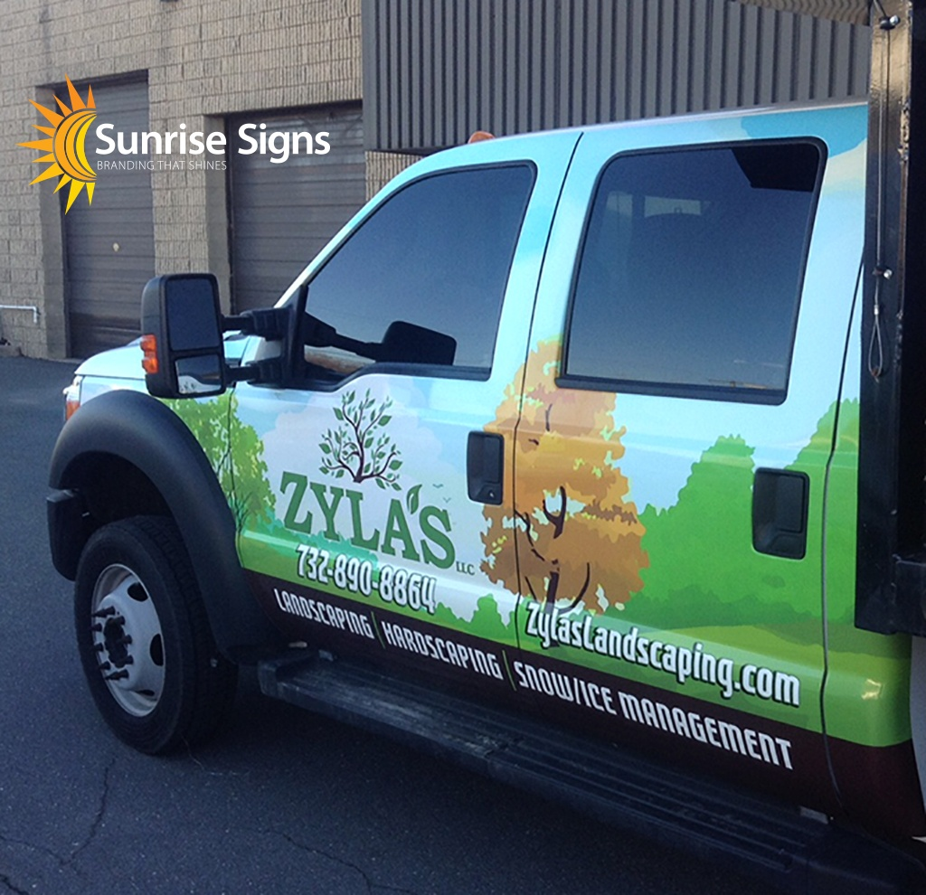 Landscaping Vehicle Graphics