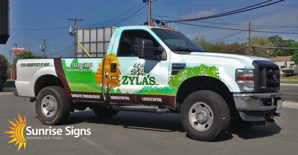 New Jersey Ford F-250 Vehicle Wraps
