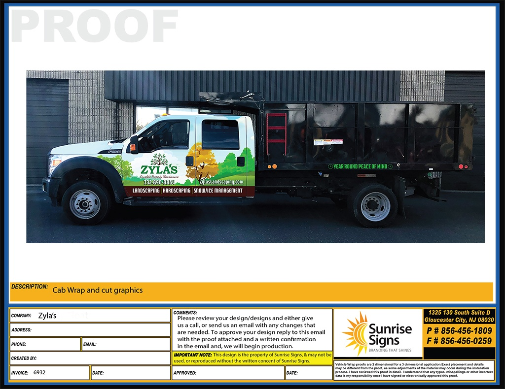 South Jersey Vehicle Wrap Design