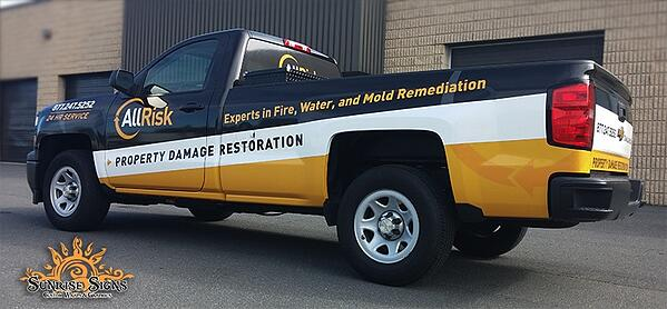 Chevy Silverado Pick-Up Truck Graphics