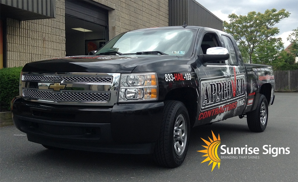 South Jersey Pickup Truck Fleet Wraps