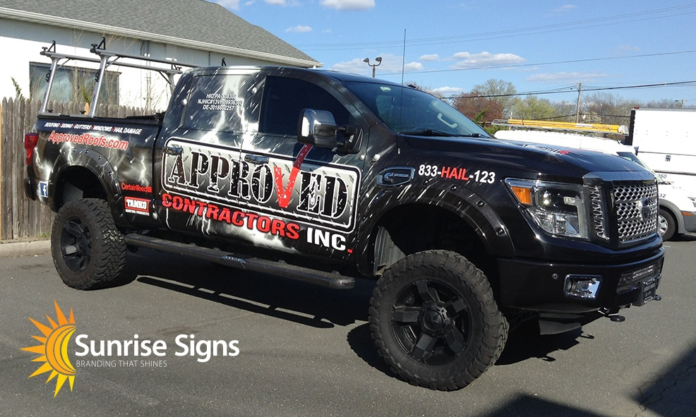 South Jersey Nissan Titan Truck Wraps