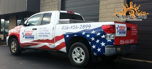 Truck Graphics for Contractors South Jersey