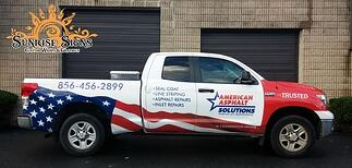 Contractor vehicle graphics South Jersey
