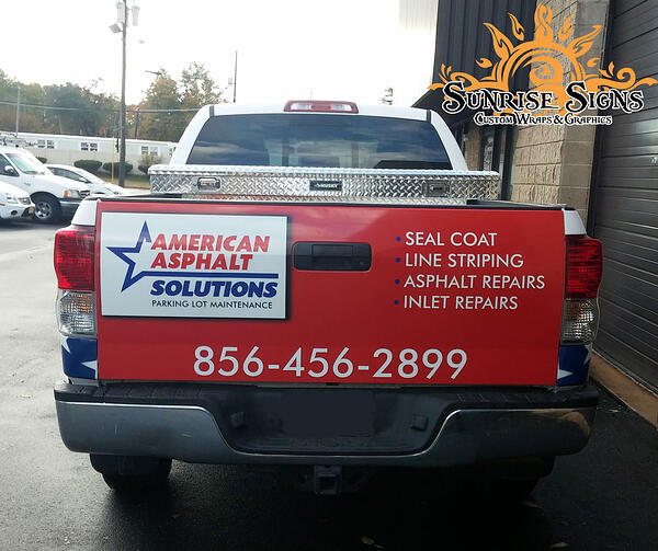 South Jersey Truck Wraps