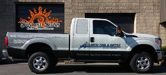 Ford F250 Truck Wraps New Jersey