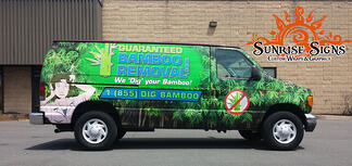 Contractor van wraps South Jersey