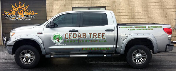 Pickup Truck Graphics South Jersey