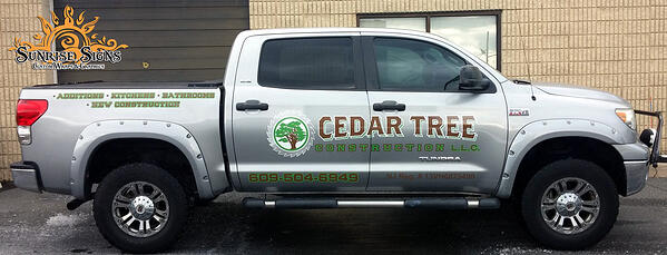 Truck Graphics for Contractors in South Jersey