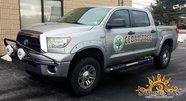 Toyota Tundra Truck Graphics South Jersey